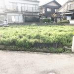 鯖江市水落町4丁目【売土地】【建築条件付き】